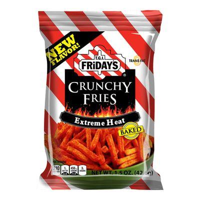 Хрустящий картофель фри Extreme Heat Crunchy Fries Fridays 127,8 гр, фото 1
