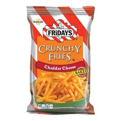 Картофель фри с сыром Чеддер Crunchy Fries Fridays 127,8 гр, фото 1