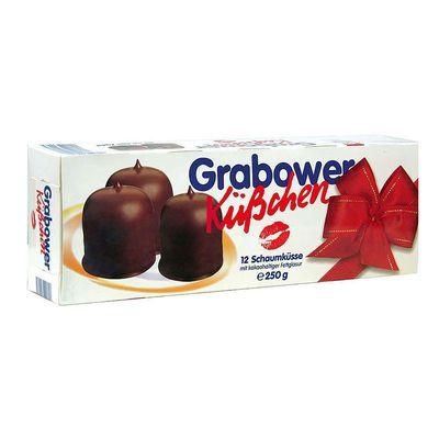 Воздушное суфле покрытое шоколадом Grabower Kuschen 250 гр, фото 1