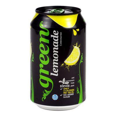 Газировка со стевией Lemon Green 330 мл, фото 2