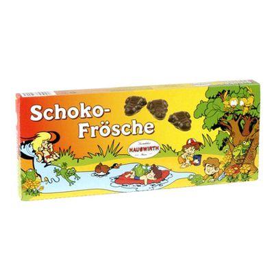 Мармелад в темном шоколаде Шоколягушки Hauswirth 250 гр, фото 1