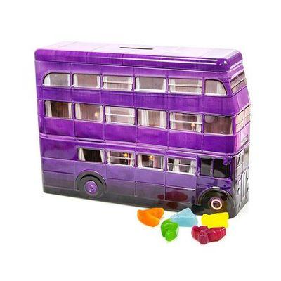 Мармелад Гарри Поттера Автобус копилка Ночной рыцарь Harry Potter Jelly  Belly 112 гр жесть, фото 1