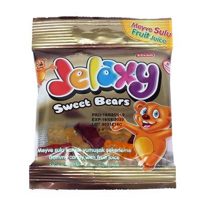 Жевательный мармелад с фруктовым соком Sweet Bears Jelaxy 20 гр, фото 1