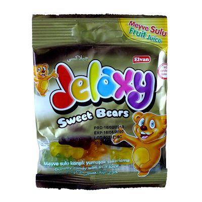 Жевательный мармелад с фруктовым соком Sweet Bears Jelaxy 20 гр, фото 2