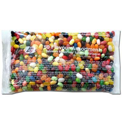Драже жевательное Ассорти 50 вкусов Jelly Belly 100 гр, фото 3