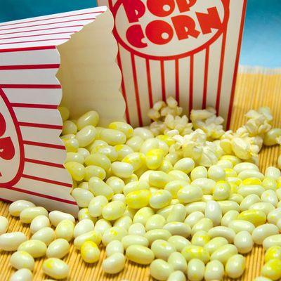 Драже жевательное Сливочный поп корн Jelly Belly 100 гр, фото 4