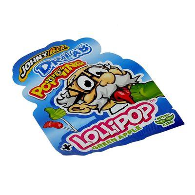 Леденец на палочке и кислая пудра Dr.Lab Popping Lollipop Johny Bee 13 гр, фото 5