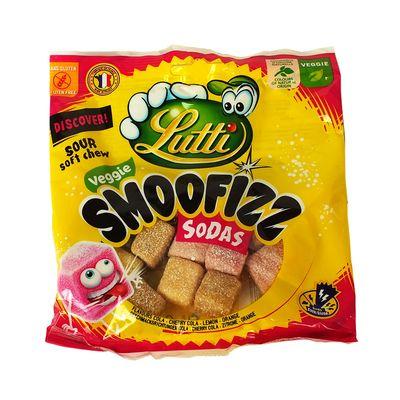 Мармелад со вкусами газировки Smoofizz Sodas Lutti 100 гр, фото 2