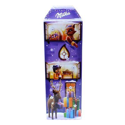 Рождественский шоколадный календарь 3D дом Milka 229 гр, фото 5