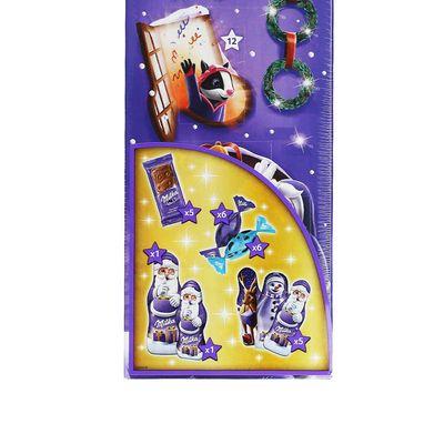 Рождественский шоколадный календарь 3D дом Milka 229 гр, фото 3