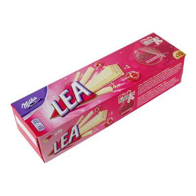 Вафельный батончик с малиновой начинкой Pink Ribbon Lea Milka 33,3 гр, фото 4