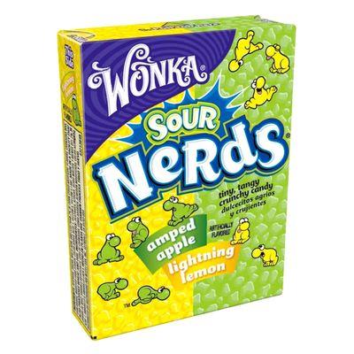 Жевательные конфеты Nerds Apple Lemon Wonka 46,7 гр, фото 1