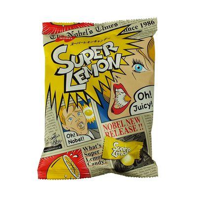 Суперкислые леденцы Super Lemon Candy Nobel 88 гр, фото 2