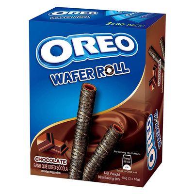 Вафельные трубочки с шоколадом Wafer Roll Oreo 54 гр, фото 2
