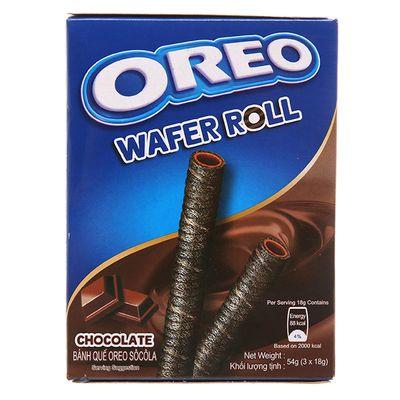 Вафельные трубочки с шоколадом Wafer Roll Oreo 54 гр, фото 3