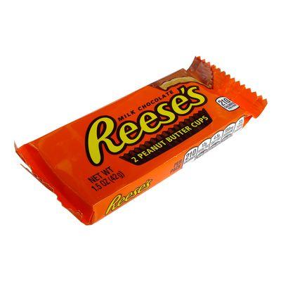 Конфеты шоколад с арахисом 2 Peanut Butter Cups Reese's 42 гр, фото 2