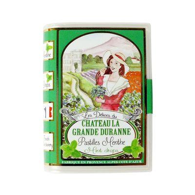 Леденцы со вкусом мяты Delices Du Chateau La Grande Duranne SIC 35 гр, фото 3