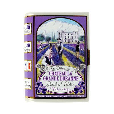 Леденцы со вкусом фиалки Delices Du Chateau La Grande Duranne SIC 35 гр, фото 3