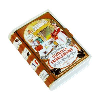 Леденцы со вкусом шоколад и кофе Delices Du Chateau La Grande Duranne SIC 35 гр, фото 1
