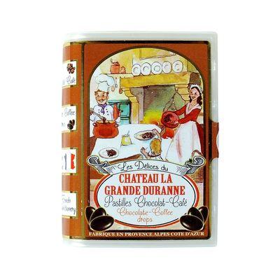 Леденцы со вкусом шоколад и кофе Delices Du Chateau La Grande Duranne SIC 35 гр, фото 3