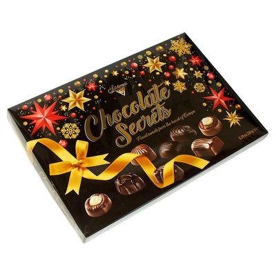 Коробка конфет на Новый Год Шоколадные Секреты Solidarnosc 238 гр, фото 1