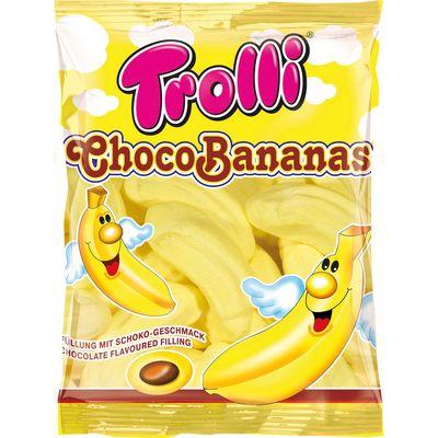 Суфле Банан с шоколадной начинкой Choco Bananas Trolli 150 гр, фото 2