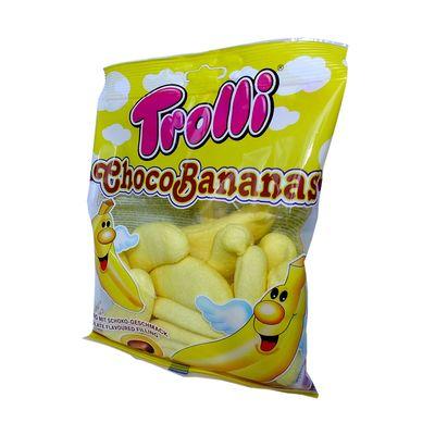 Суфле Банан с шоколадной начинкой Choco Bananas Trolli 150 гр, фото 3