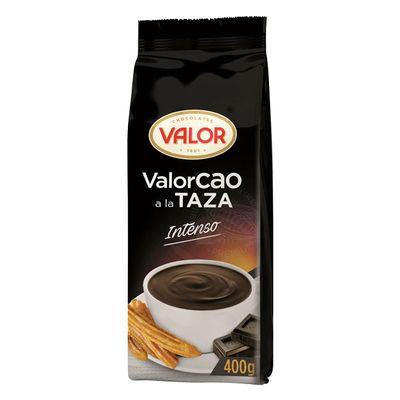Порошок для приготовления горячего шоколада какао 30% Valor Intense 400 гр, фото 1