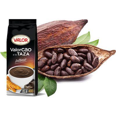 Порошок для приготовления горячего шоколада какао 30% Valor Intense 400 гр, фото 2