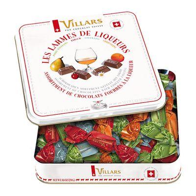 Подарочная коробка конфет 4 ликера в молочном шоколаде Villars 250 гр, фото 2
