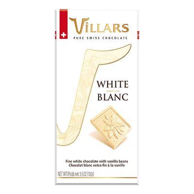 Белый шоколад с ванилью Villars 100 гр, фото 2