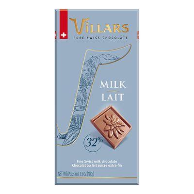 Швейцарский молочный шоколад 32% Villars 100 гр, фото 2