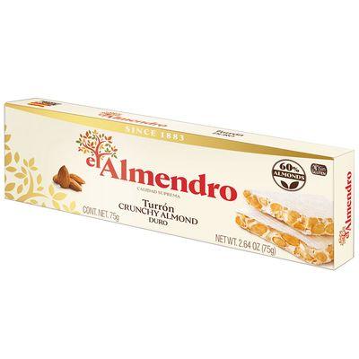 Хрустящий миндальный туррон Crunchy Turron El Almendro 75 гр, фото 1