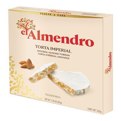 Хрустящий миндальный туррон Torta Imperial El Almendro 200 гр, фото 1