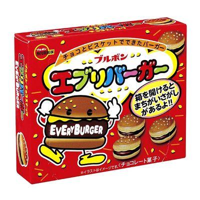 Печенье Чоко Бургер Every Burger Bourbon 66 гр, фото 1