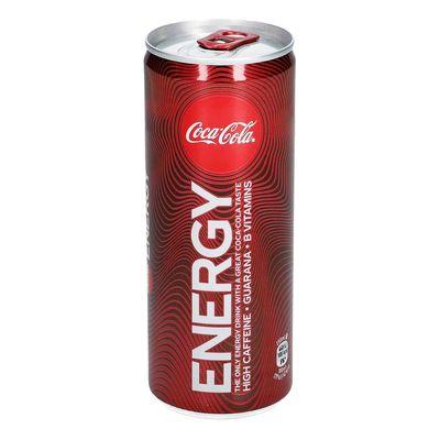 Энергетический напиток Coca-Cola Energy 250 ml, фото 3