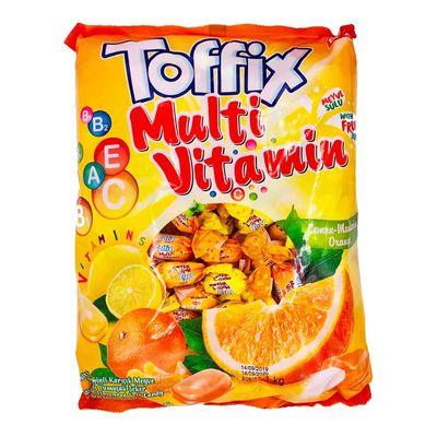 Жевательные конфеты Toffix Multi Vitamin Elvan 1 кг, фото 1
