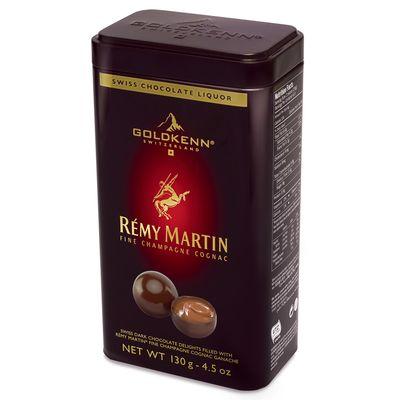 Конфеты в жестяной банке со вкусом коньяка Remy Martin Goldkenn 130 гр, фото 1