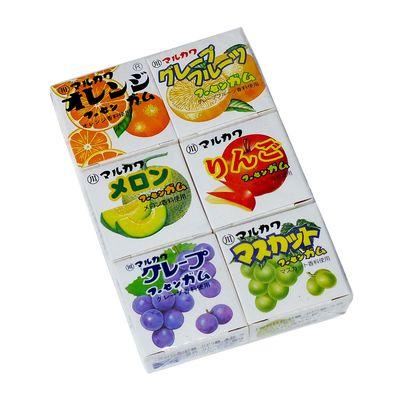 Жевательная резинка Ассорти 6 вкусов Marukawa 32,4 гр, фото 1