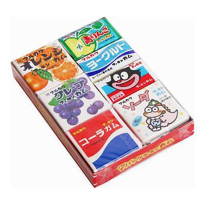 Жевательная резинка Ассорти 7 вкусов Marukawa 36,6 гр, фото 2