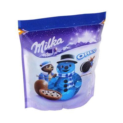 Новогодние конфеты Шоколадные шарики Bonbons Oreo Milka 86 гр, фото 3