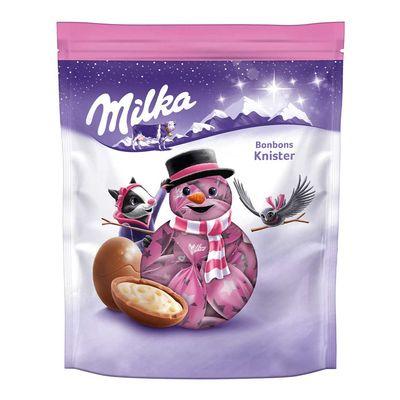Новогодние конфеты Шоколадные шарики Bonbons Popping Candy Milka 86 гр, фото 2