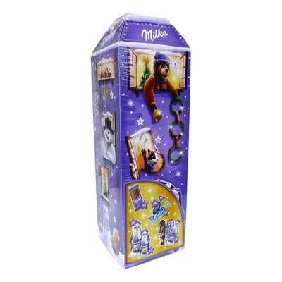 Рождественский шоколадный календарь 3D дом Milka 229 гр, фото 6