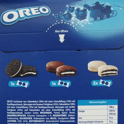 Набор печенья в подарочной упаковке Санта Микс Oreo 145 гр, фото 4