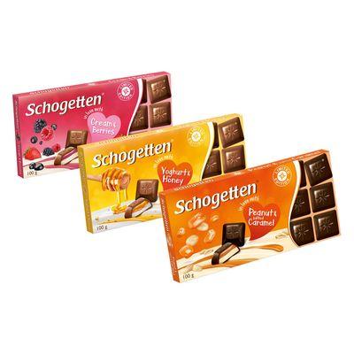 Молочный шоколад с йогуртом и медом Yoghurt and Honey Schogetten 100 гр, фото 2