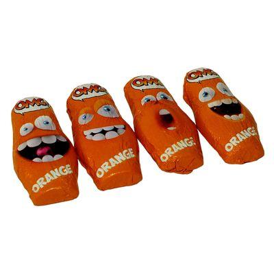 Шоколадные конфеты со взрывной карамелью вкус апельсина OMG! Orange Sorini 1 кг, фото 6