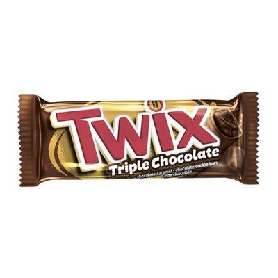 Батончик Тройной  шоколад Triple Chocolate Twix 40 гр, фото 1