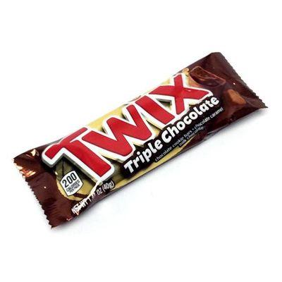 Батончик Тройной  шоколад Triple Chocolate Twix 40 гр, фото 2