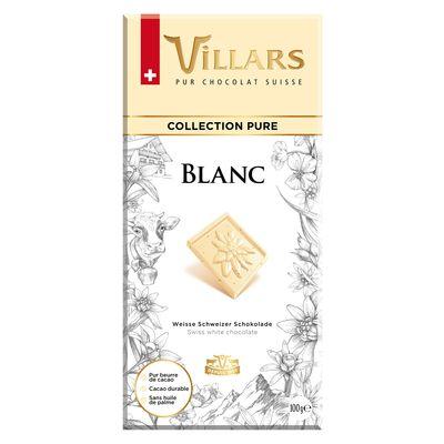 Белый шоколад с ванилью Villars 100 гр, фото 1
