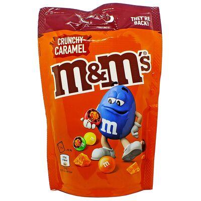 Драже с кусочками карамели M&M's Crunchy Caramel 109 гр, фото 1